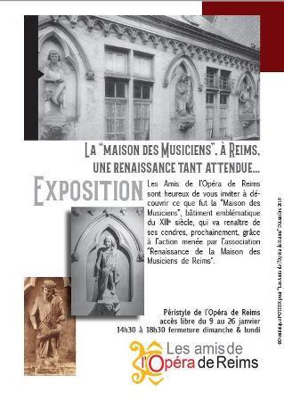 """La """"maison des Musiciens"""", à Reims, une renaissance tant attendue..."""