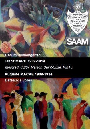 Franz MARC et Auguste MACKE 1909 - 1914