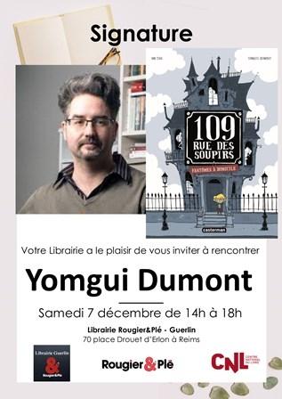 Rencontre avec Yomgui Dumont