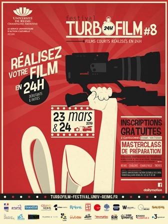 Festival Turbofilm - inscription réalisation de courts-métrages en 24h