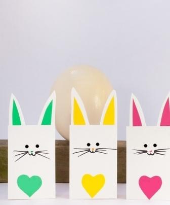 Paper toys Pâques