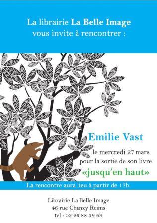 """Émilie Vast : """"Jusqu'en haut"""""""
