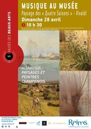 """Musique au musée : Paysage des """"Quatre Saisons"""" - Vivaldi"""