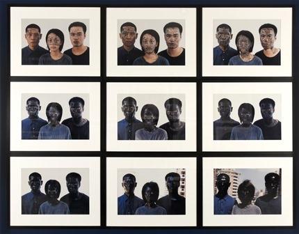 Palette chinoise – Noir et blanc