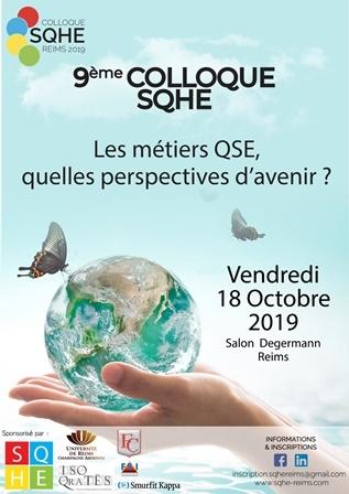 9ème colloque : Les métiers QSE, quelles perspectives d'avenir ?