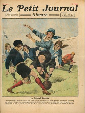"""Visite commentée """"En short et contre tous, 100 ans de football féminin"""""""