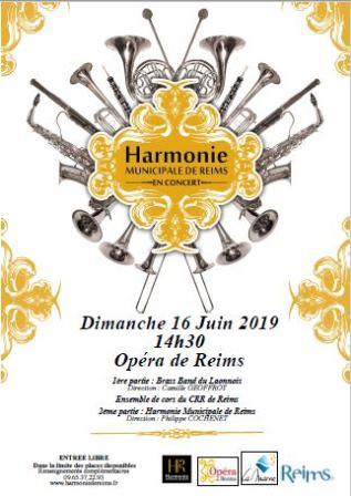 L'Harmonie municipale invite le Brass Band du laonnois et ensemble de cors du CRR
