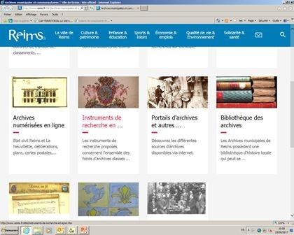 Initiation à la recherche dans un service d'archives