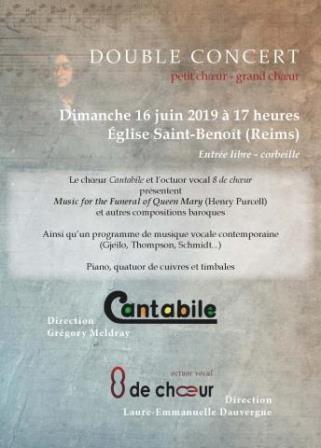 Le chœur Cantabile & L'octuor vocal 8 de chœur