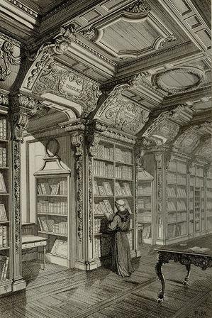 La bibliothèque de l'ancien Collège des Jésuites à travers nos collections
