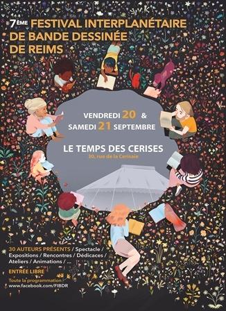 7ème Festival Interplanetaire de Bandes Dessinées de Reims