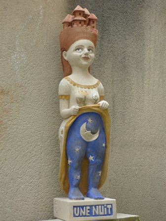 « Sculpture sur pierre » avec Angélique Jung, artiste plasticienne