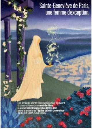 Sainte Geneviève de Paris : une femme d'exception