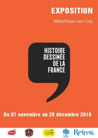 L'histoire dessinée de la France