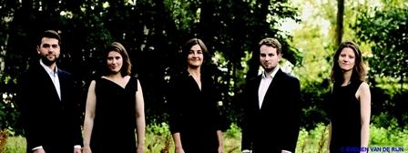 Ensemble Damask  et Flore Merlin  quatuor vocal et piano