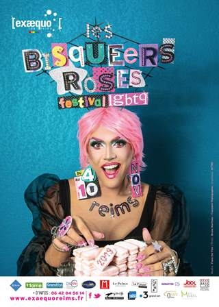 Les BisQueers Roses - Inauguration