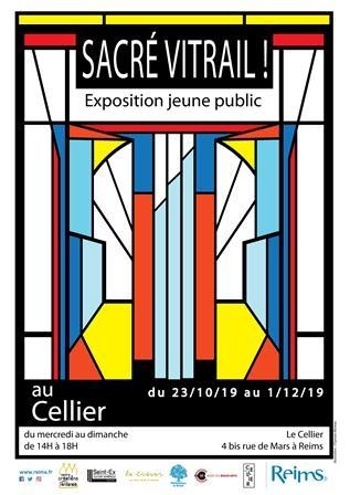 """Visite, atelier & lecture de """"Sacré vitrail !"""""""