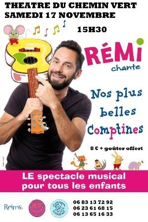 Rémi Chante nos plus belles comptines pour tous les enfants