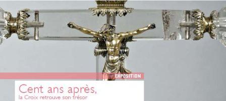 Cent ans après, la Croix retrouve son trésor