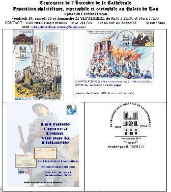 Centenaire de l'Incendie de la Cathédrale