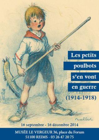 Les petits poulbots s'en vont en guerre (1914-1918)