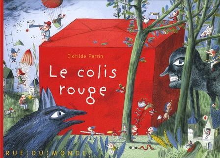 LE COLIS ROUGE de Clotilde Perrin