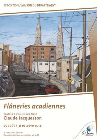 Flâneries Acadiennes de Claude Jacquesson