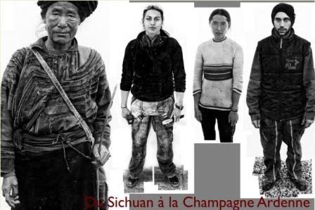 PORTRAITS, Du Sichuan à la Champagne Ardenne  De ZENG NIAN