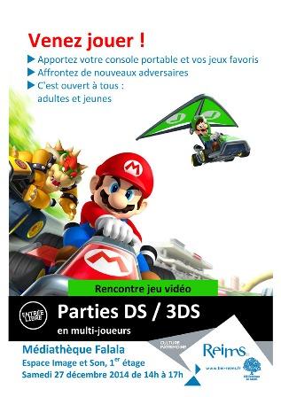 Parties DS / 3DS en multi-joueur