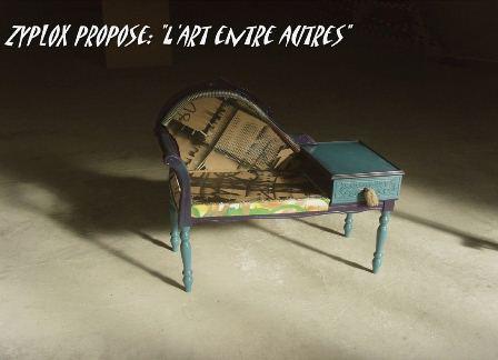 « Zyplox propose :  L'art entre autres »