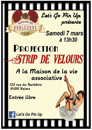'Strip de velours'