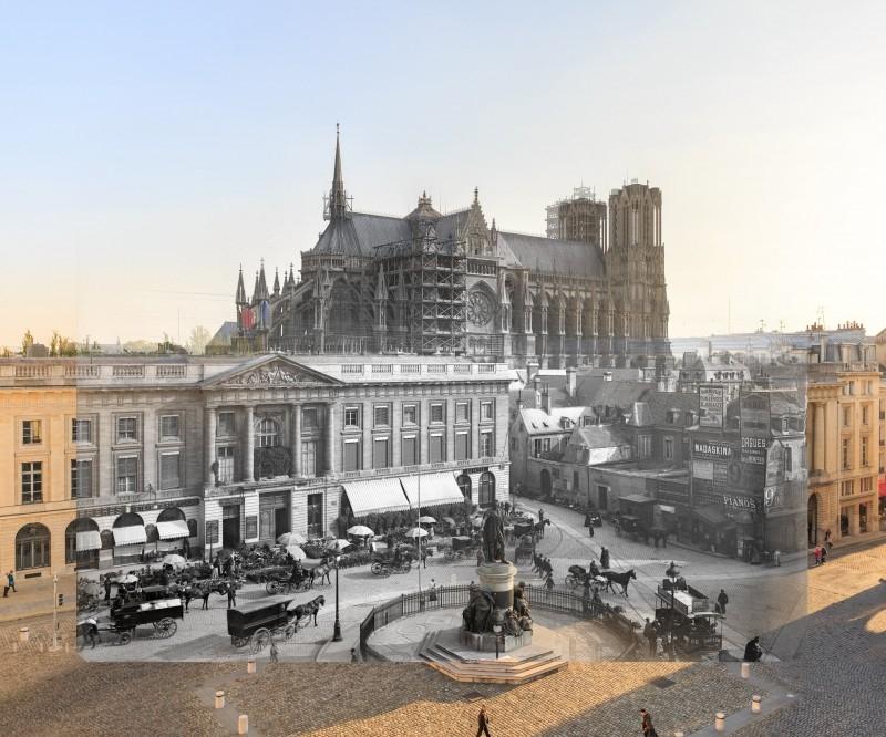 Visite commentée de l'exposition Passé recomposé : Reims, d'hier à aujourd'hui