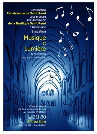 """Spectacle """"Musique et lumière"""""""