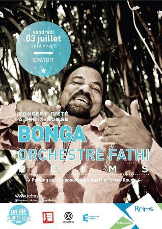 Bonga & orchestre Fathi en concert