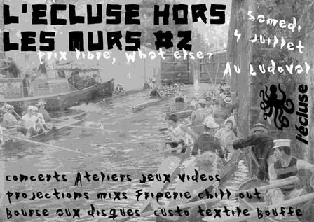 L'écluse Hors les Murs#2 – la Kermesse de l'écluse