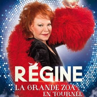 Régine : « La grande Zoa en tournee »