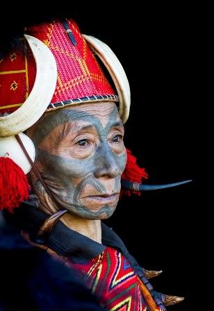 Konyak, les derniers Rois de l'Inde