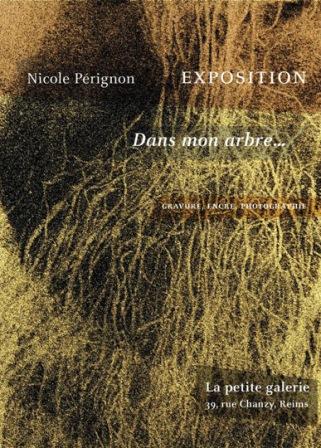 """exposition """"dans mon arbre"""" de Nicole Pérignon"""