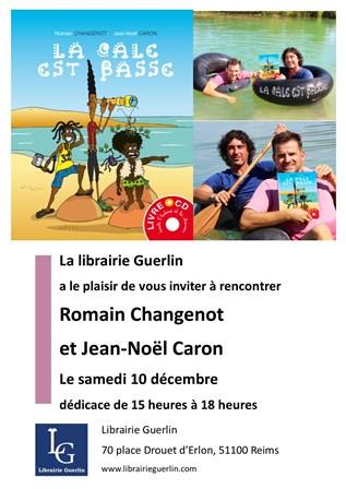 Dédicace Avec Romain Changenot Et Jean-Noël Caron
