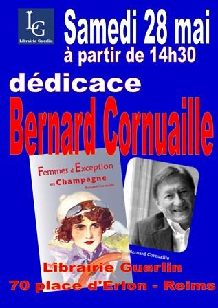 Dédicace avec Bernard Cornuaille