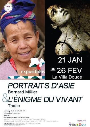 Portraits d'Asie B. Muller/Enigme du vivant - Thalie B. Vernet