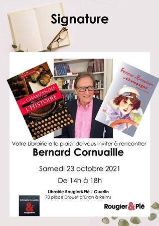 """""""Ces champenois qui ont fait l'histoire"""" & """"Femmes d'exception en champagne"""" - Bernard Cornuaille"""