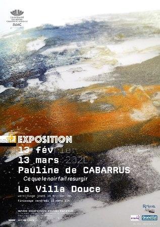 « Ce que le noir fait resurgir »  Pauline De Cabarrus