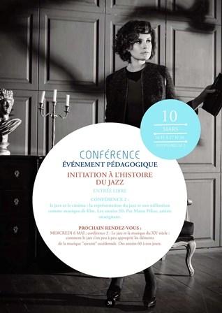 Le Jazz et le cinéma : la représentation du Jazz et son utilisation comme musique de film. Années 50