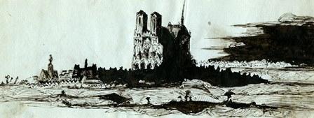 La cathédrale Notre-Dame de Reims par Victor Hugo