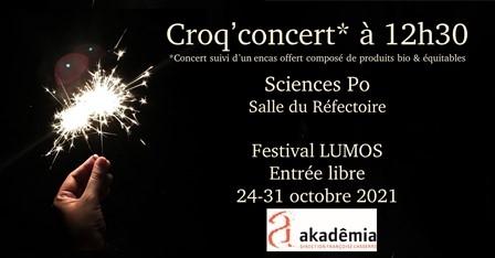 Croq' Concert* « Les Surprises de l'amour » !