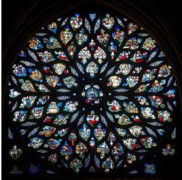 La Rose de la Sainte Chapelle - Voyage au coeur d'un vitrail