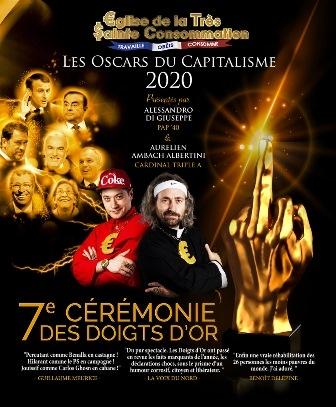 7ème Cérémonie des Doigts d'Or - Les Oscars du Capitalisme 2020