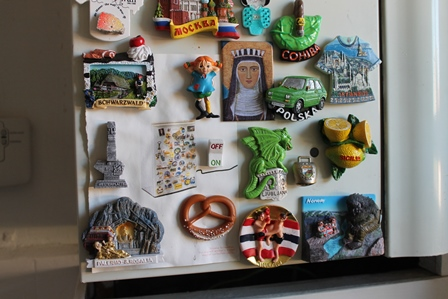 The migrant workers fridge magnet collection