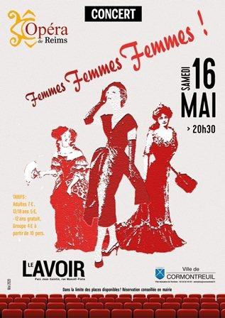"""Concert  """"Les femmes dans l'Opéra"""""""